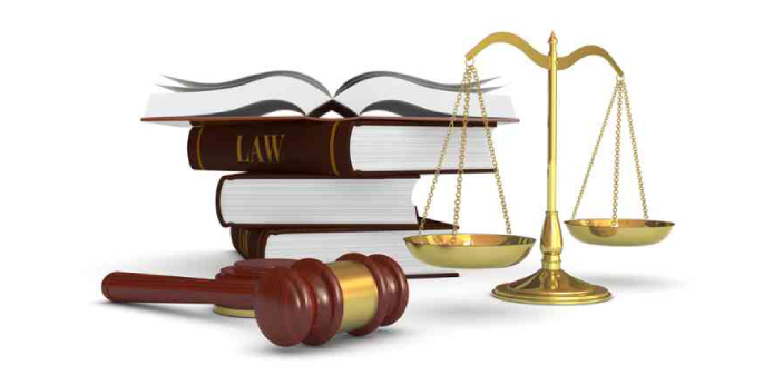 These two words are related to law and the courts. Judgments bring a case to a close because it is