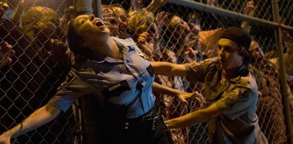 A zombie apocalypse  is a particular scenario within apocalyptic fiction. In a zombie apocalypse, a