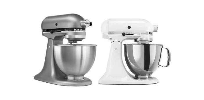 Two of the most compared mixers are the KitchenAid Classic and the KitchenAid Artisan. Yes, they