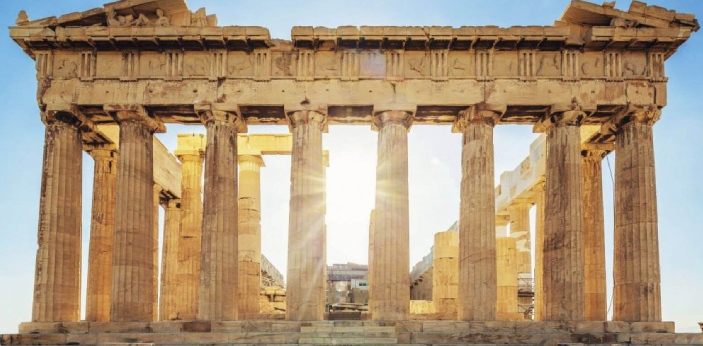 Doric and Ionic are also known as the two orders of architecture that originated in Greece. The