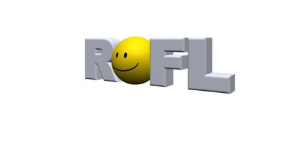 ROFL is an acronym used in texting language especially in informal setting such as social media.