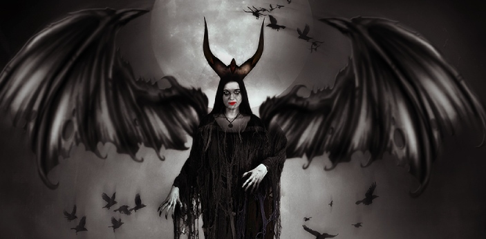 The devil is the personification of diablerie, and while evil is the state of being iniquitous, the