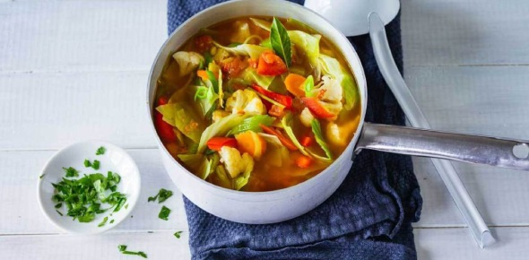 Some soup is made to be eaten hot and others can be eaten cold too. Some are actually made for