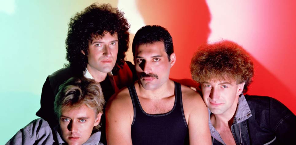 Queen was a band that was very popular in the 1980s and 1990s. They had many number one hits and