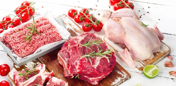 How many servings of meat are recommended for each day?<br/>