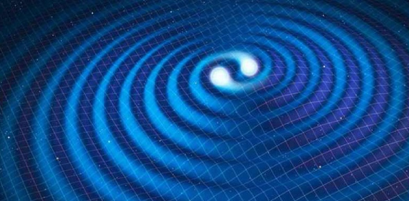 Gravitational waves differ from gravity waves. Gravitational waves are ripples in space-time that