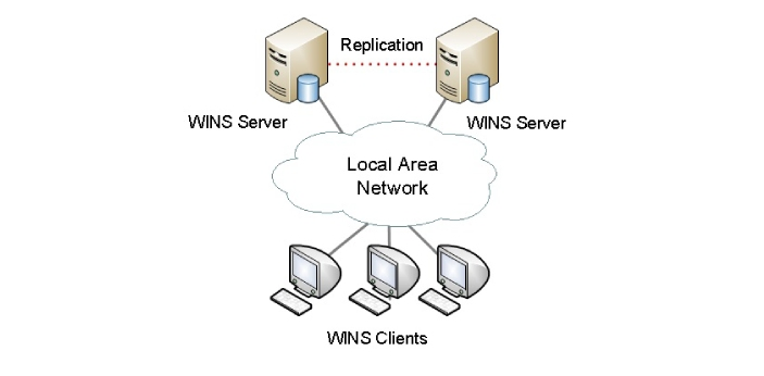 A WINS server is a Windows Internet name service, and a DNS server is a domain name service. WINS
