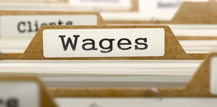 Wage and income are closely related terms. Wage is a part of an income. Wage is what one gets paid