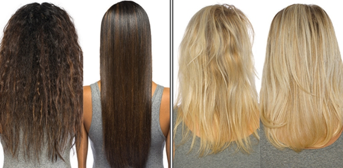 Brazilian Blowout and Keratin Treatment are two types of hair treatments. Most times, spotting the