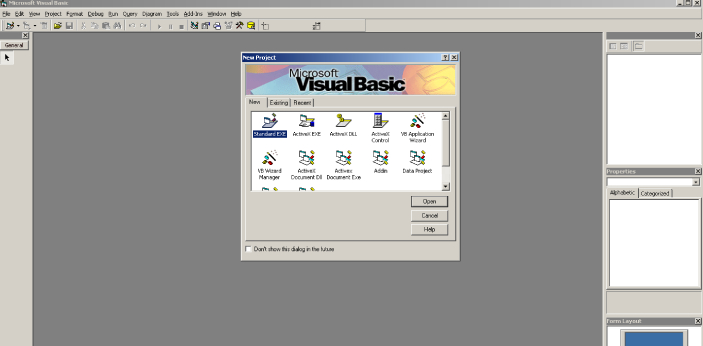 VB is the short form of Visual Basic, and it is one of the events driven programming languages