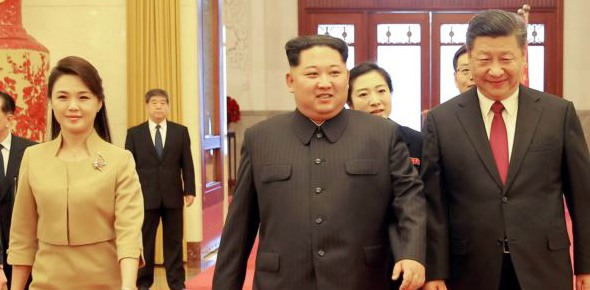 Was Kim's China visit the reason for his surrender?