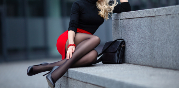 Pantyhose and Tights are two examples of leg garments. Both look very similar, and they cover right
