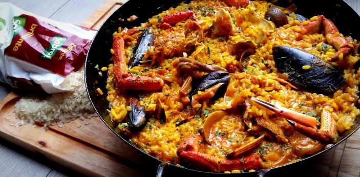 One of the most famous dishes from Spain, and one of the most popular, is called paella. This