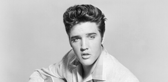 Why did Elvis Presley not tour much during his career?