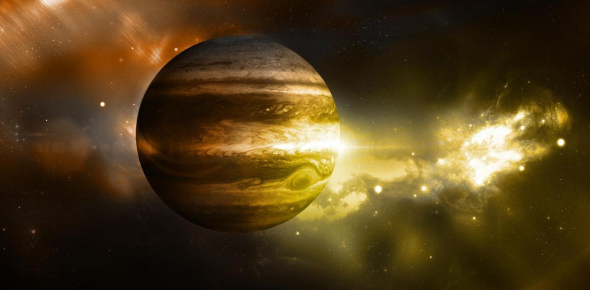 Why doesn't it burn like the sun if Jupiter is made of hydrogen?