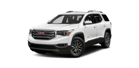 The Acadia is a reasonably priced GMC vehicle for the full-sized SUV market. The two different cars