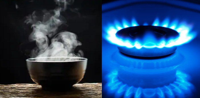 Gas is in a stable state at room temperature, whereas a vapor is a substance which is in a gaseous