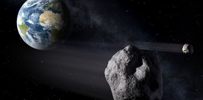 Asteroids and comets are two more heavenly bodies that are quite close to the earth. They are