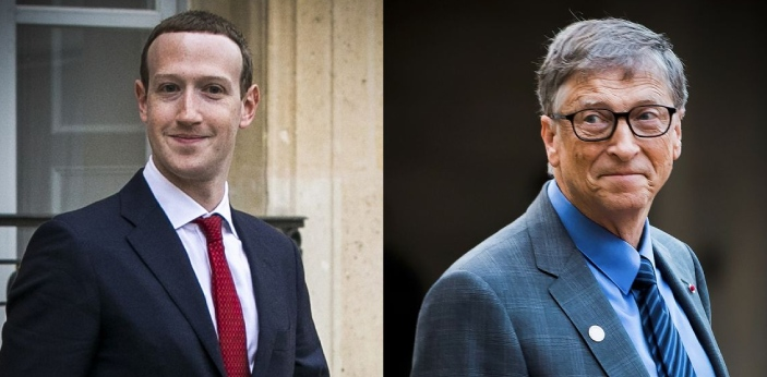 Mark Zuckerberg and Bill Gates are both involved in telecommunication and technology. Zuckerberg