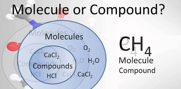 Molecule and compound are common words used in Chemistry classes that for some students, find it