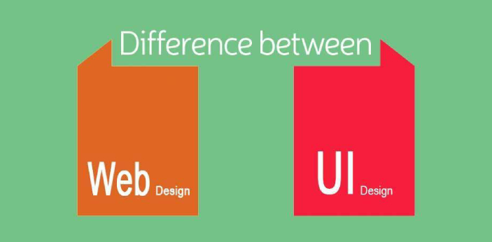 UI designers and web designers are not the same. A web designer is a person that designs content