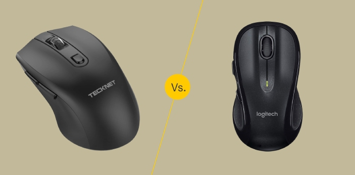 Optical Mouse and Laser Mouse are two types of mice. A mouse generally, is used as an input device,