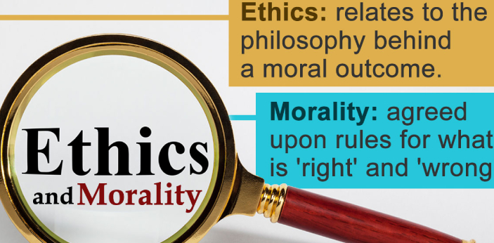 Some are a bit confused with the differences between ethics and morals because they immediately