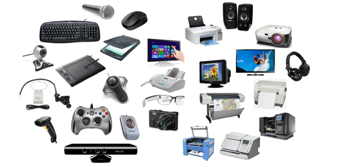 The function of the input device is to give information to the computer for processing and to