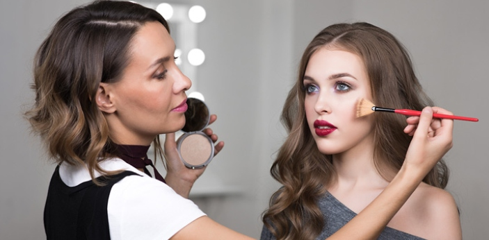 No formal education is necessary to work as a makeup artist. Working as a beautician requires a