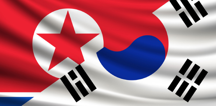 South Korea and North Korea were the two parties that fought in the Korean War. North Korea was