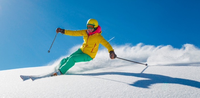 Super G and downhill are two-speed centric skiing disciplines that seem similar, but still have