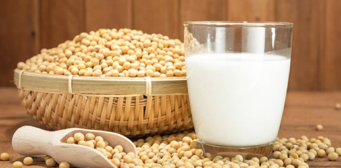 Soy milk and lactose-free milk are different types of milk. Soymilk is a type of milk that we