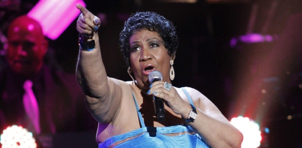 What charity work did Aretha Franklin do?