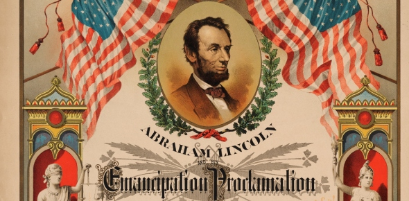 What were the terms included in the Emancipation Proclamation?