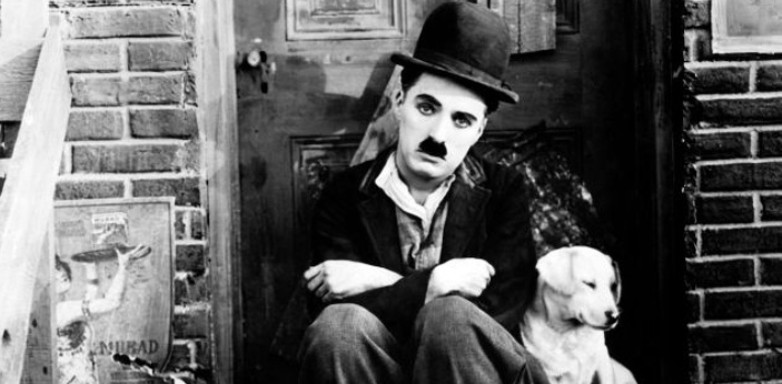 A lot of people love Charlie Chaplin because of his slapstick comedy, but most people are also now