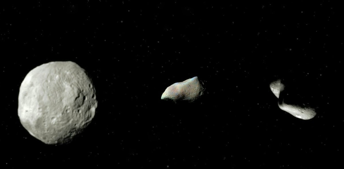 Asteroids and comets have some things in common as they are often explained to be the remnants of