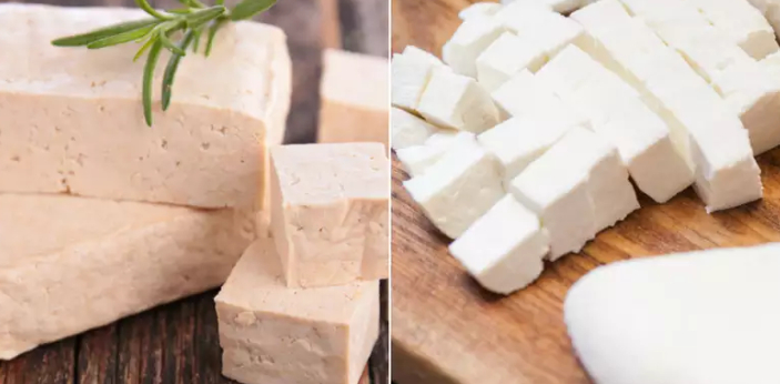Tofu and Paneer are two kinds of food. They actually look similar, and that is the main reason why