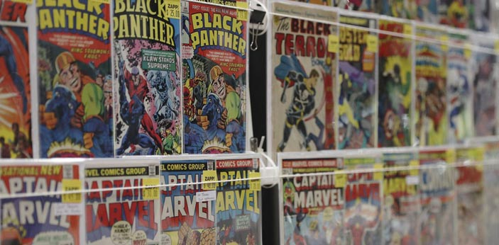 You can find different comic books, but not all of them are good. There are some comic books that