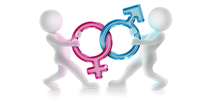 There are many differences in male and female humans that can be easily distinguished physically.