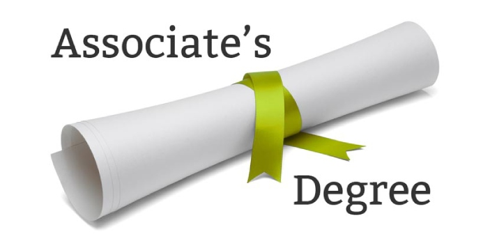 A certificate and an associate degree are two awards that are given after someone has completed the