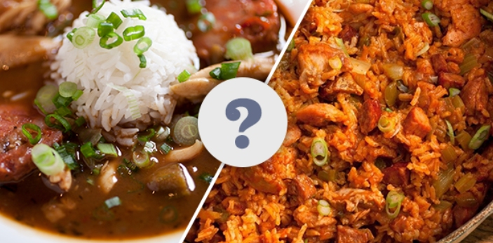 There are a lot of people right now who are feeling a bit confused between gumbo and jambalaya.