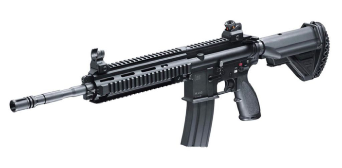 The HK416 is comparable to the M4 in appearance, but it is dissimilar internally. The prime
