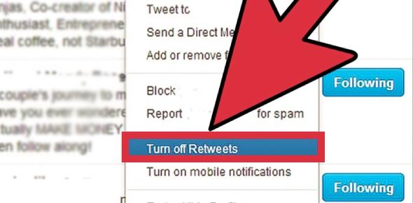 How do I delete retweets that won't go away?