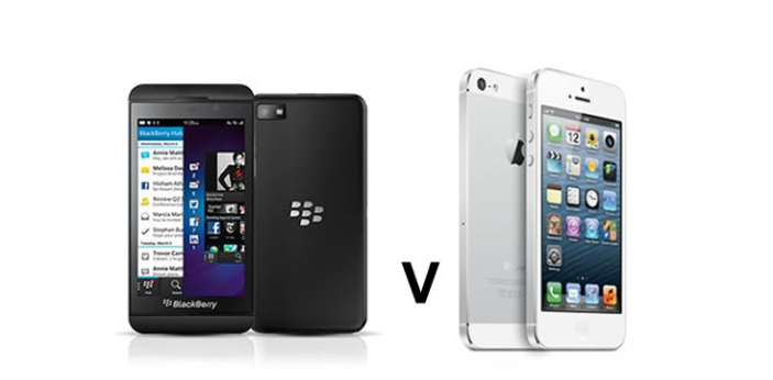 Blackberry z10 and iPhone 5 are two commonly used smartphones. However, they differ from each other