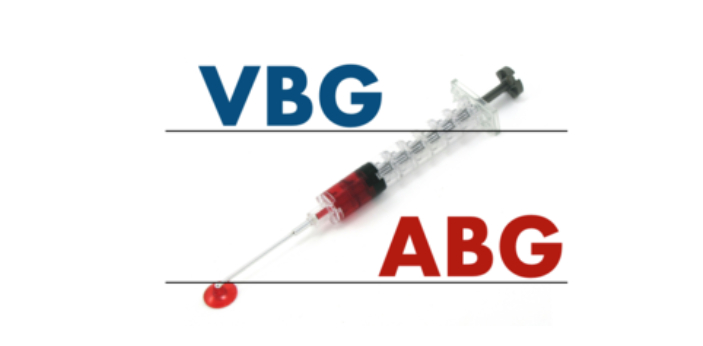 You can actually get the same information from the ABG and the VBG. The only difference is from