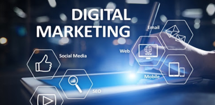 Digital marketing actually means how to promote products and services.   In other words, Digital