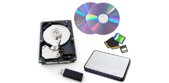 What type of computer device is used to backup data?