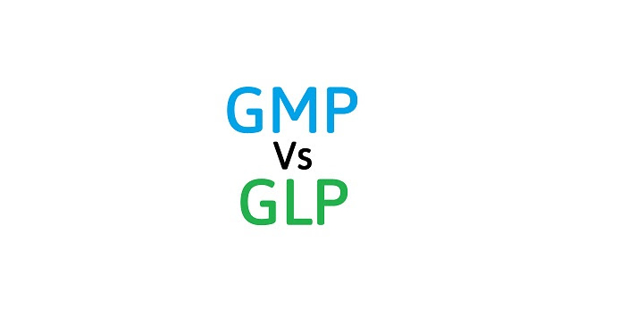 You should remember that GMP and GLP are known to be regulations but they are meant to serve two