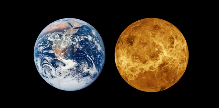 Though Earth and Venus are seldom called Twin Planets, they are very different from each other.