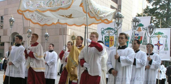 Corpus Christi was primarily started due to the efforts of Juliana of Liège, A Belgium City.
